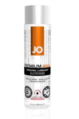 Анальный возбуждающий лубрикант на силиконовой основе JO Anal Premium Warming,  4 oz (120 мл)