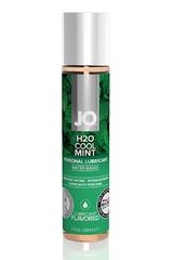 Ароматизированный лубрикант Мята на водной основе JO Flavored Cool Mint H2O 1oz (30 мл)