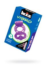 Виброкольцо LUXE VIBRO Секрет Кощея + презерватив, 1 шт