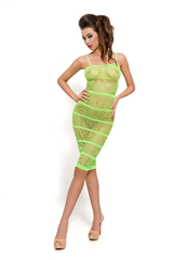 Платье-сетка Passion Erotic Line, зеленое, OS