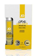 Стимулирующий гель для оральных ласк с десенсибилизацией Oral Delight - Vanilla Thrill ванильный 30