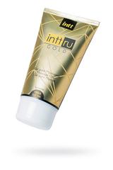 Массажный гель INTT RU Gold с цветочным ароматом, 150 мл