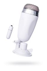 Мастурбатор реалистичный Штучки-дрючки, вагина, TPR, телесный, 21 см