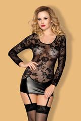 Платье wetlook с пажами Candy Girl Livia, XL