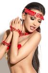 Украшение на голову Me Seduce Queen of hearts Arabesque, красное, OS