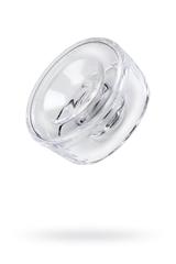 Насадка на помпу Sexus Men, TPE, прозрачный, 7,5 см