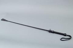 Стек плетеный (длиный), наконечник Хлопушка