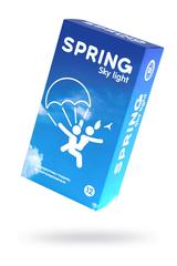 Презервативы Spring  Sky Light, классические, латекс, 17,5см, 12 шт