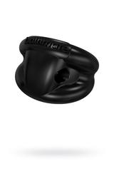 Виброкольцо на пенис Bathmate Strength, elastomex, чёрное, Ø5 см