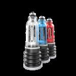Помпа для пениса Bathmate HYDROMAX5, ABS пластик, голубая, 26 см (аналог Hydromax X20)
