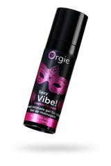 Гель для массажа ORGIE Sexy Vibe Intense Orgasm с покалывающим, разогревающим и охлаждающим эффектом