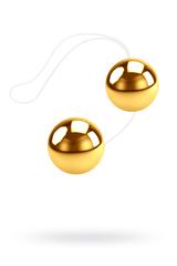 Вагинальные шарики Dream Toys, золотистые, Ø3,5 см