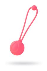 Вагинальный шарик L'EROINA by TOYFA Rosy, силикон, персиковый, Ø 3,1 см, 50 г