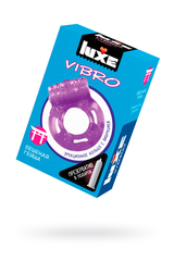 Виброкольцо LUXE VIBRO Бешеная гейша + презерватив, 1 шт