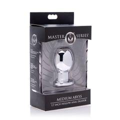 Анальный расширитель средний Medium Abyss 1.7 Inch Hollow Anal Dilator