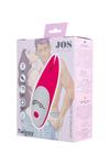 Вибромассажер JOS Twiggy, силикон, розовый, 12 см