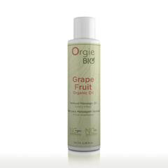 Органическое масло для массажа ORGIE Bio Grapefruit с ароматом грейпфрута, 100 мл