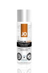 JO40208 Анальный охлаждающий любрикант на силиконовой основе JO Anal Premium COOL, (60 мл)