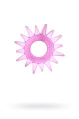 Эрекционное кольцо TOYFA, TPE, розовый