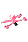 Вибратор поясной в форме зайца TOYFA, PVC, розовый, 6,5 см