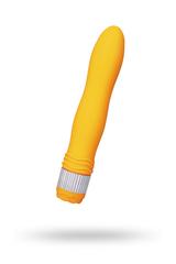 Вибратор Sexus Funny Five, ABS пластик, оранжевый, 21,5 см