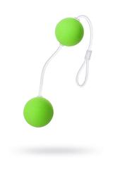 Вагинальные шарики Sexus Funny Five, ABS пластик, Зеленый, Ø 3 см