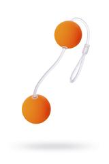 Вагинальные шарики Sexus Funny Five, ABS пластик, Оранжевый, Ø 3 см