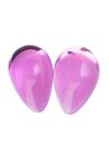 Вагинальные шарики Sexus Glass, Стекло, Розовый, Ø см