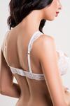 Бралетт кружевной Erolanta Lingerie Collection, белый (50-52)