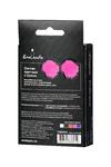 Пэстис Erolanta Lingerie Collection круглые с пухом ярко-розовые
