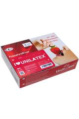 Презервативы Unilatex Multifrutis №144  ароматизированные ,клубничные (упаковка)