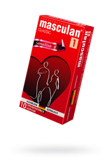 Презервативы Masculan Classic 1,  10 шт.  Нежные (Senitive) ШТ