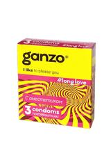 Презервативы Ganzo Long Love № 3для продления полового акта ШТ