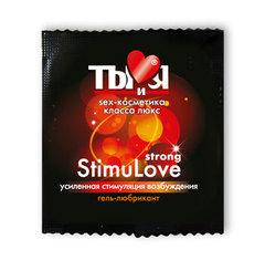 Гель-любрикант StimuLove strong, стимулирующий, 4 г, 20 шт. в упаковке