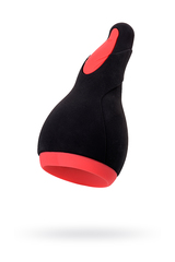 Перезаряжаемый мастурбатор Erotist Eruption, силикон, черный, 18,5 см.