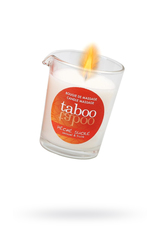 Массажное аромамасло с афродизиаками для женщин RUF Taboo - Pêche sucre, сладкий персик, 60 г