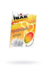 Презервативы Luxe КОНВЕРТ, Тропический шторм, манго, 18 см., 3 шт. в упаковке