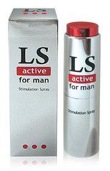Спрей стимулирующий LOVESPRAY ACTIVE для мужчин, 18 г