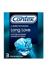 """Презервативы """"Contex"""" № 3 Long Love с анестетиком, продлевают удовольствие"""