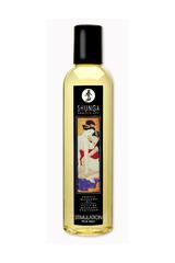 Массажное масло Shunga Персик, возбуждающее, натуральное, 250 мл