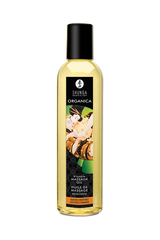 Возбуждающее массажное масло Shunga Organica с ароматом миндаля, 250 мл