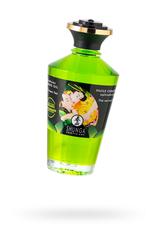 Массажное масло Shunga Organic Зеленый чай, возбуждающее, натуральное, 100 мл
