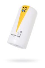 Мастурбатор нереалистичный Lovegame High pressure hard, TPE, белый, 15 см