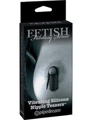 Вибро клипсы на соски Vibrating Silicone Nipple Teazers