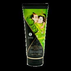 Массажный крем для тела Груша и экзотический зеленый чай серии Необыкновенные поцелуи,
