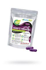 Капсулы Man''s Power плюс возбуждающее средство 2 штуки