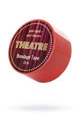 Бондажный скотч TOYFA Theatre, красный, 15 м.