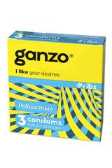 Презервативы Ganzo Ribs № 3
