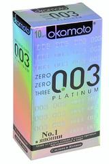 Презервативы Okamoto 003 Platinum № 10