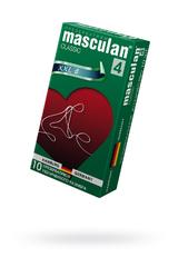 Презервативы Masculan Classic 4,  10шт.  Увеличенного размера (XXL) ШТ